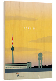 Katinka Reinke - Berlin - Tempelhofer Feld illustration