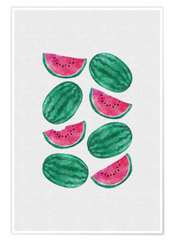 Póster Watermelon Crowd