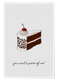 Póster You Want A Piece Of Me