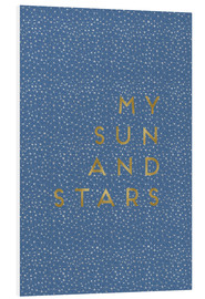 Cuadro de PVC  My Sun And Stars - Orara Studio