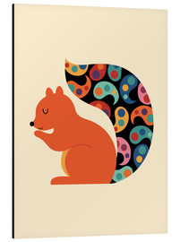Aluminio-Dibond  Paisley Squirrel - Andy Westface
