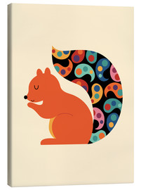 Lienzo  Paisley Squirrel - Andy Westface