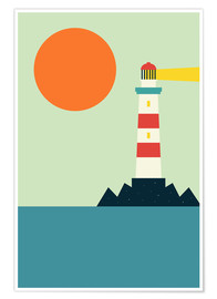 Póster  Light House - Andy Westface
