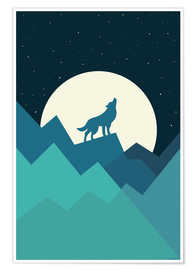Póster  Keep The Wild In You - Andy Westface