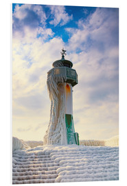 Cuadro de PVC  Frozen Lighthouse - Simone Splinter