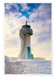 Póster  Frozen Lighthouse - Simone Splinter