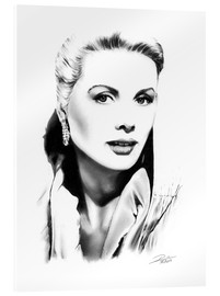 Cuadro de metacrilato  Retrato de Grace Kelly - Dirk Richter