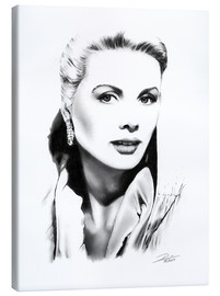 Lienzo  Retrato de Grace Kelly - Dirk Richter