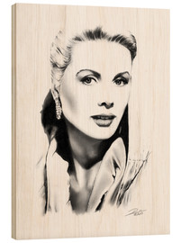 Madera  Retrato de Grace Kelly - Dirk Richter