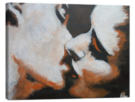 Lienzo  Lovers -  Kiss 6 - Carmen Tyrrell