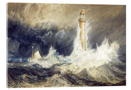 Cuadro de metacrilato  Faro de Bell Rock - Joseph Mallord William Turner