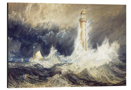 Cuadro de aluminio  Faro de Bell Rock - Joseph Mallord William Turner