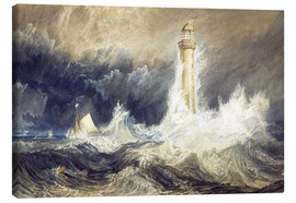 Lienzo  Faro de Bell Rock - Joseph Mallord William Turner
