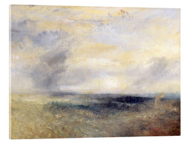 Cuadro de metacrilato  Margate desde el mar - Joseph Mallord William Turner