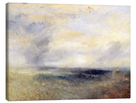 Lienzo  Margate desde el mar - Joseph Mallord William Turner