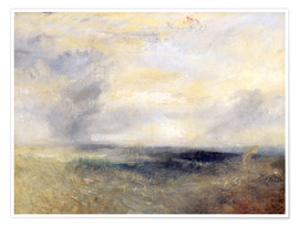 Póster  Margate Del Mar - Joseph Mallord William Turner