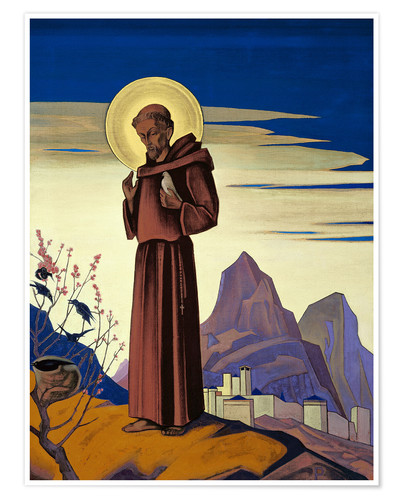 Póster St .. Francis