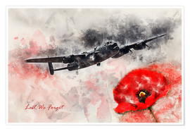 Póster Lest We Forget