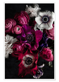 Póster Dark Flowers 1