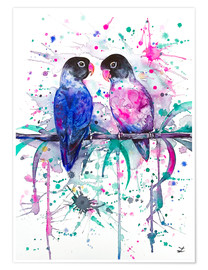 Zaira Dzhaubaeva - Love is in the air! Lovebirds