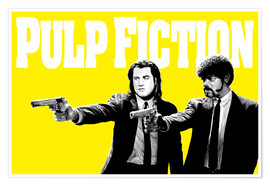 Póster Pulp Fiction Yellow BANG