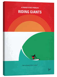 Lienzo  No915 My Riding Giants minimal movie poster - chungkong