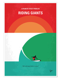 Póster Riding Giants (inglés)