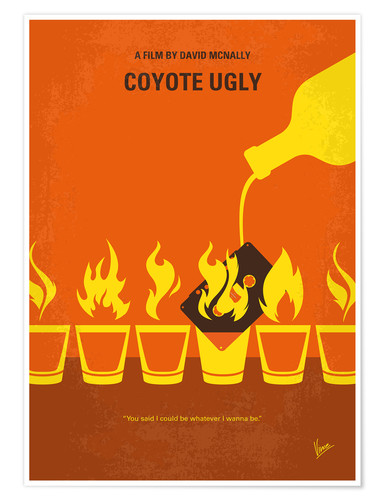 Póster Coyote Ugly