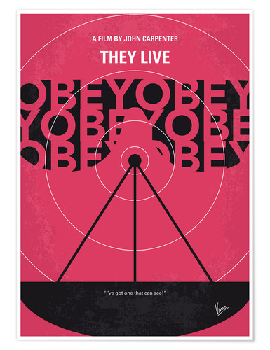 Póster They Live