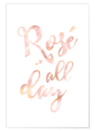 Póster  rose all day - Ohkimiko