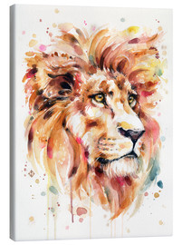 Lienzo  All Things Majestic (Lion) - Sillier Than Sally