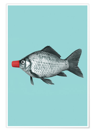 Póster SOY SAUCE FISH