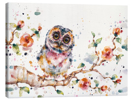 Lienzo  Yep Cute Is My Middle Name (baby Owl) - Sillier Than Sally