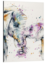 Aluminio-Dibond  That Type Of Love (elephants) - Sillier Than Sally