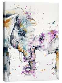 Lienzo  That Type Of Love (elephants) - Sillier Than Sally