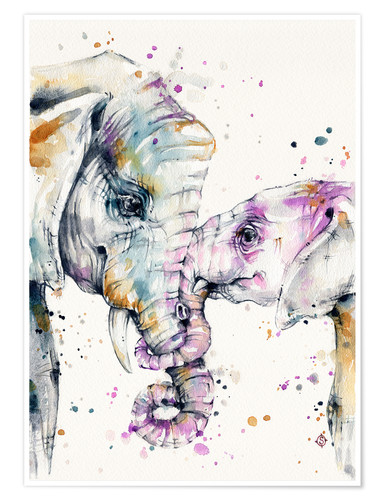 Póster That Type Of Love (elephants)