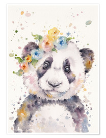 Póster Little Panda
