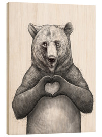 Madera  Bear with heart - Nikita Korenkov