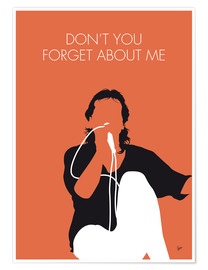 Póster Simple Minds - Don't You Forget About Me