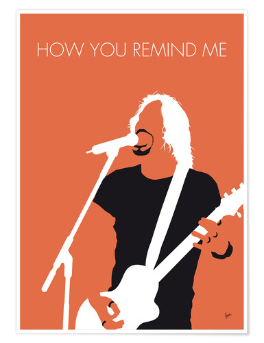 Póster Nickelback - How You Remind Me
