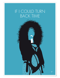 Póster Cher - If I Could Turn Back Time