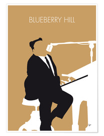 Póster Fats Domino - Blueberry Hill
