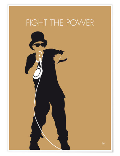 Póster Public Enemy - Fight The Power