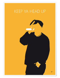 Póster 2Pac - Keep Ya Head Up