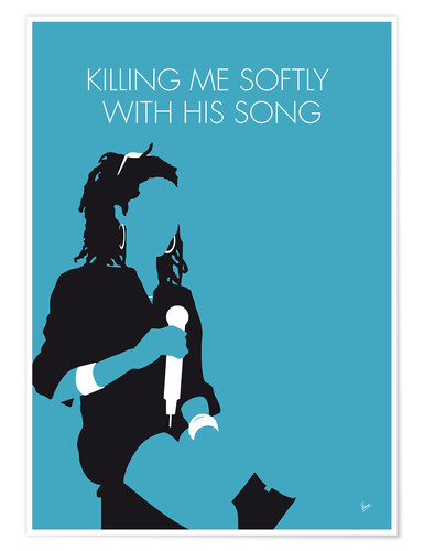 Póster Lauryn Hill - Killing Me Softly With His Song