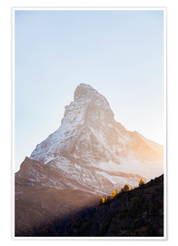 Póster Matterhorn in Switzerland