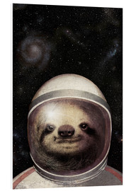 Forex  Space Sloth Poster Lounge - Eric Fan