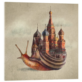 Eric Fan - The Snail's Daydream Poster Lounge