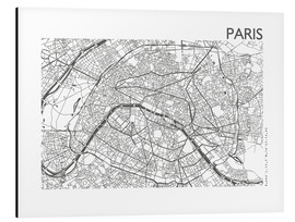 44spaces - Mapa de paris