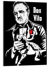 Cuadro de metacrilato  Don Vito Corleone the godfather art print - 2ToastDesign